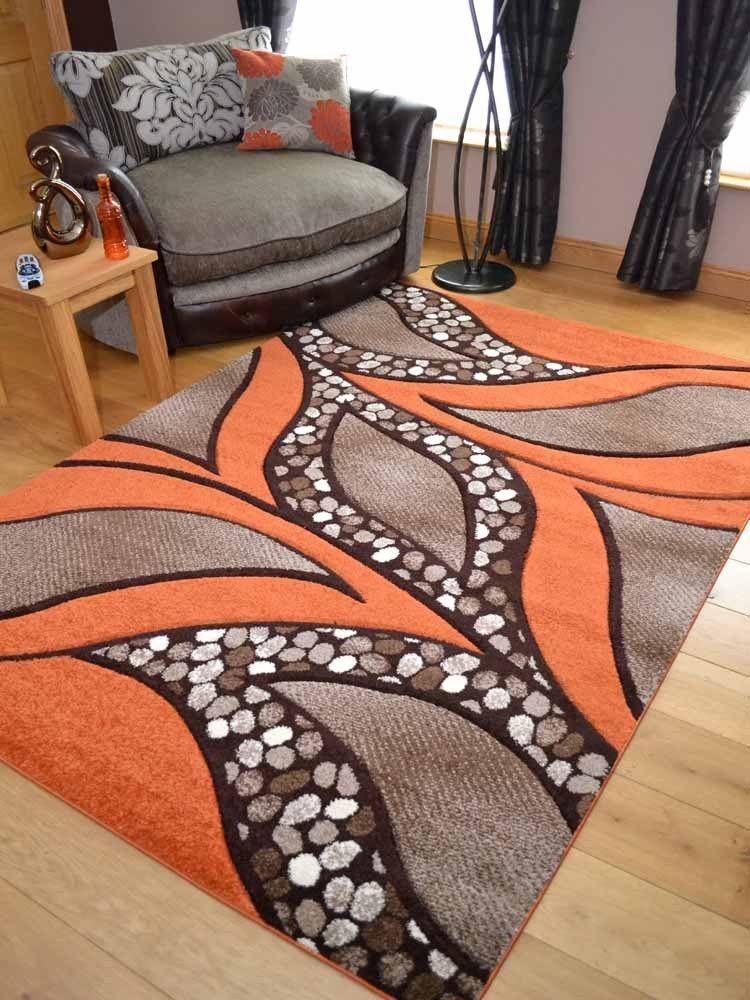 New Thick Modern Orange Ginger Carved Floor Carpets Large Hall Rugs Mats Runner Home Furniture Diy Ru Tapetes Artesanais Ideias De Tapete Tapetes Frufrus