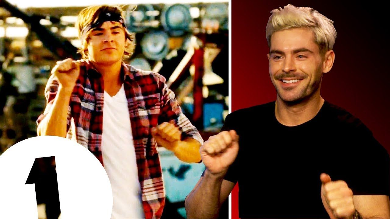 I couldnt dance zac efron on high school musical and