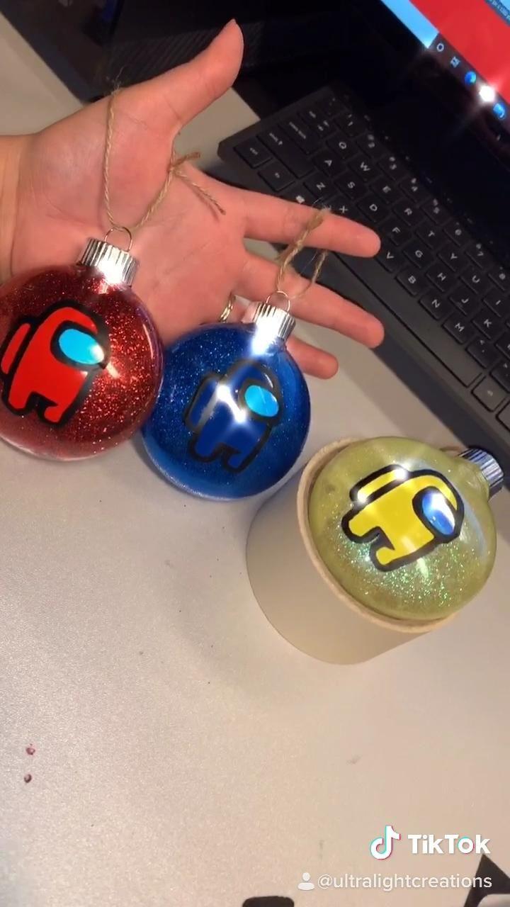 Among Us Ornaments
