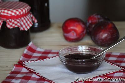 rezetas de carmen: Mermelada de ciruelas rojas