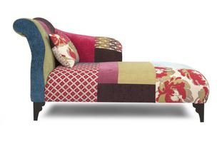 more photos 6f6fd ebecf Shout Right Hand Facing Chaise Longue Shout Patchwork | Art ...