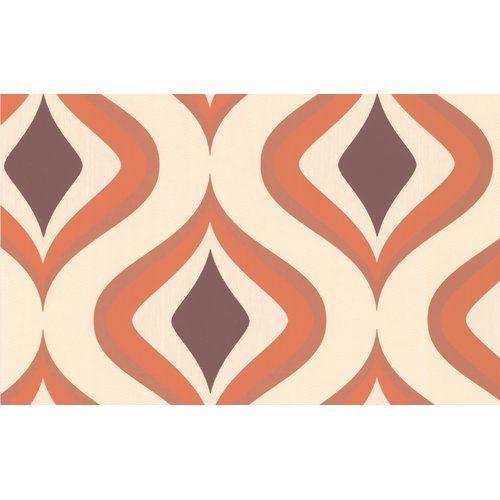 Poise 10m L x 52cm W Roll Wallpaper Graham & Brown Colour: Brown