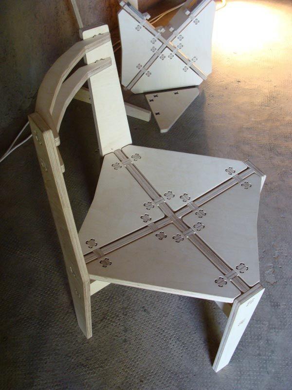plywood chair Plywood Furniture | CNC Cut | Pinterest |  ...