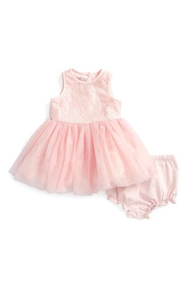 Pippa & Julie Lace & Tulle Dress (Baby Girls) available at #Nordstrom