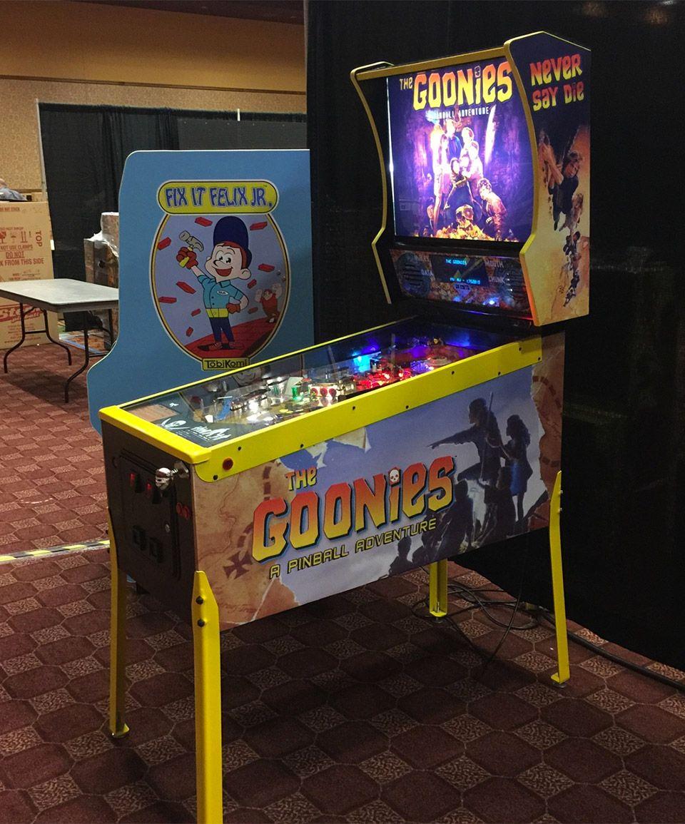 Custom The Goonies Pinball Machine Goonies Never Say