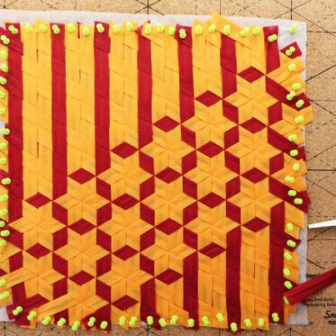 beitragsbild_fabric_weaving | Origami-Sterne | Pinterest | Weben ...