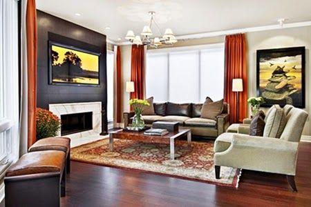 Fascinating Modern Family Room Designs Tenka Brown Living Room Family Room Walls Modern Family Rooms