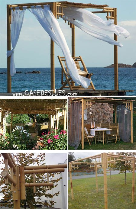 pergola bois et tonnelle bois terrasse. Black Bedroom Furniture Sets. Home Design Ideas