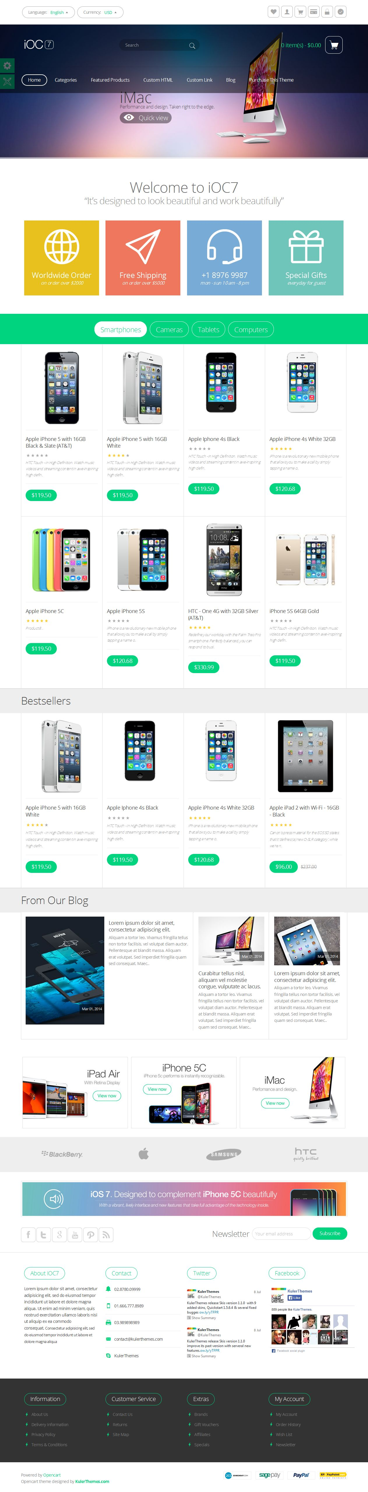 Pin von Awesome Graphic Design auf OpenCart Themes & Templates ...
