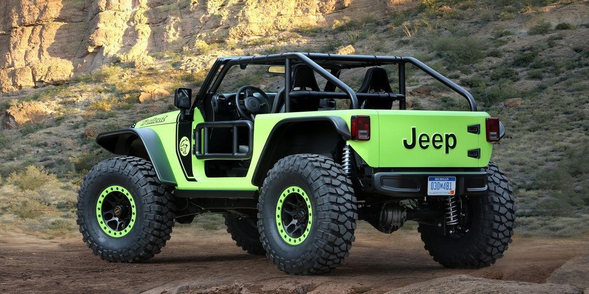 Jeep Really Built This 707 Hp Hellcat Safari Machine Jeep
