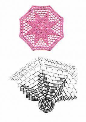 Crochet Knitting Handicraft: crochet motifs