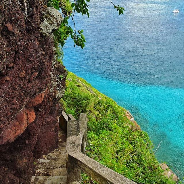 To take in this view yourself visit Fort Durvernette St ...