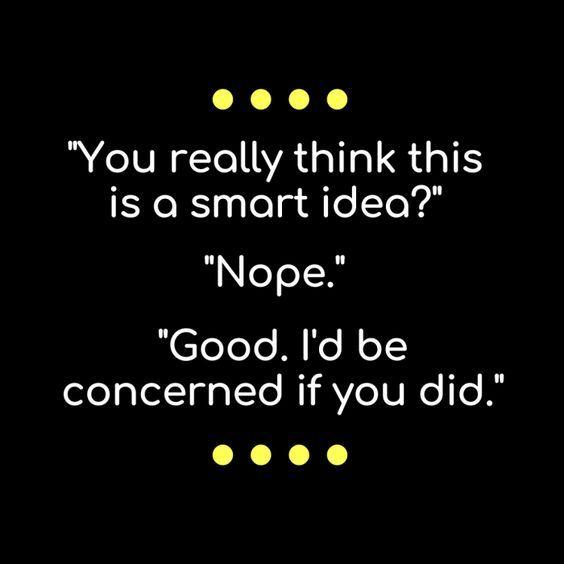 Smart idea?