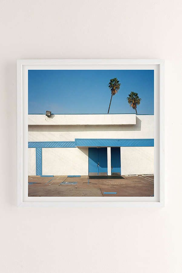 Slide View: 1: George Byrne Malibu 2015 Art Print