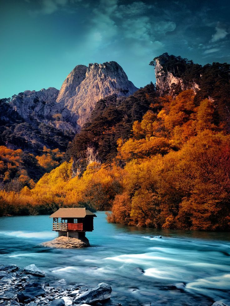 River House Serbia Photo Via Hiroshi Beautiful Landscapes Beautiful Nature Wonderful Places