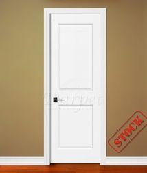 2 Panel Square Carrara Interior Prehung Primed Doors For Builders In  Chicago 8 0