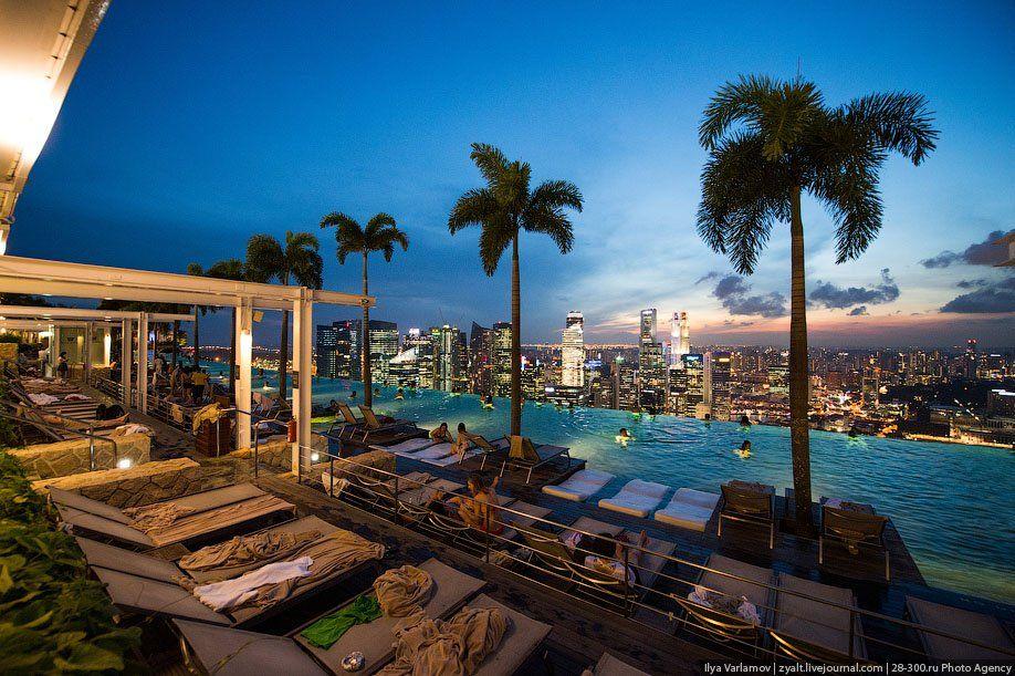 фотографии с видом отеля в сингапуре называют мужским