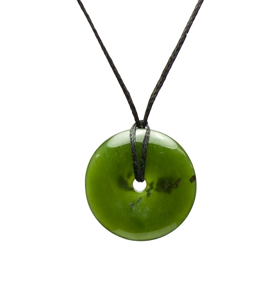 Green jade small circle of life necklace mountain jade new green jade small circle of life necklace mountain jade new zealand 24 mozeypictures Image collections