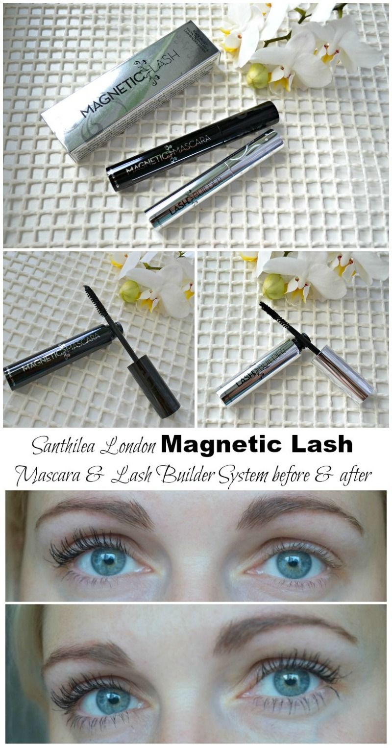 7ad3e121ad2 Santhilea London Magnetic Lash Mascara & Lash Builder System review. Before  and after photos. How to use Magentic Lash mascara & Lash Builder kit. via  @ ...