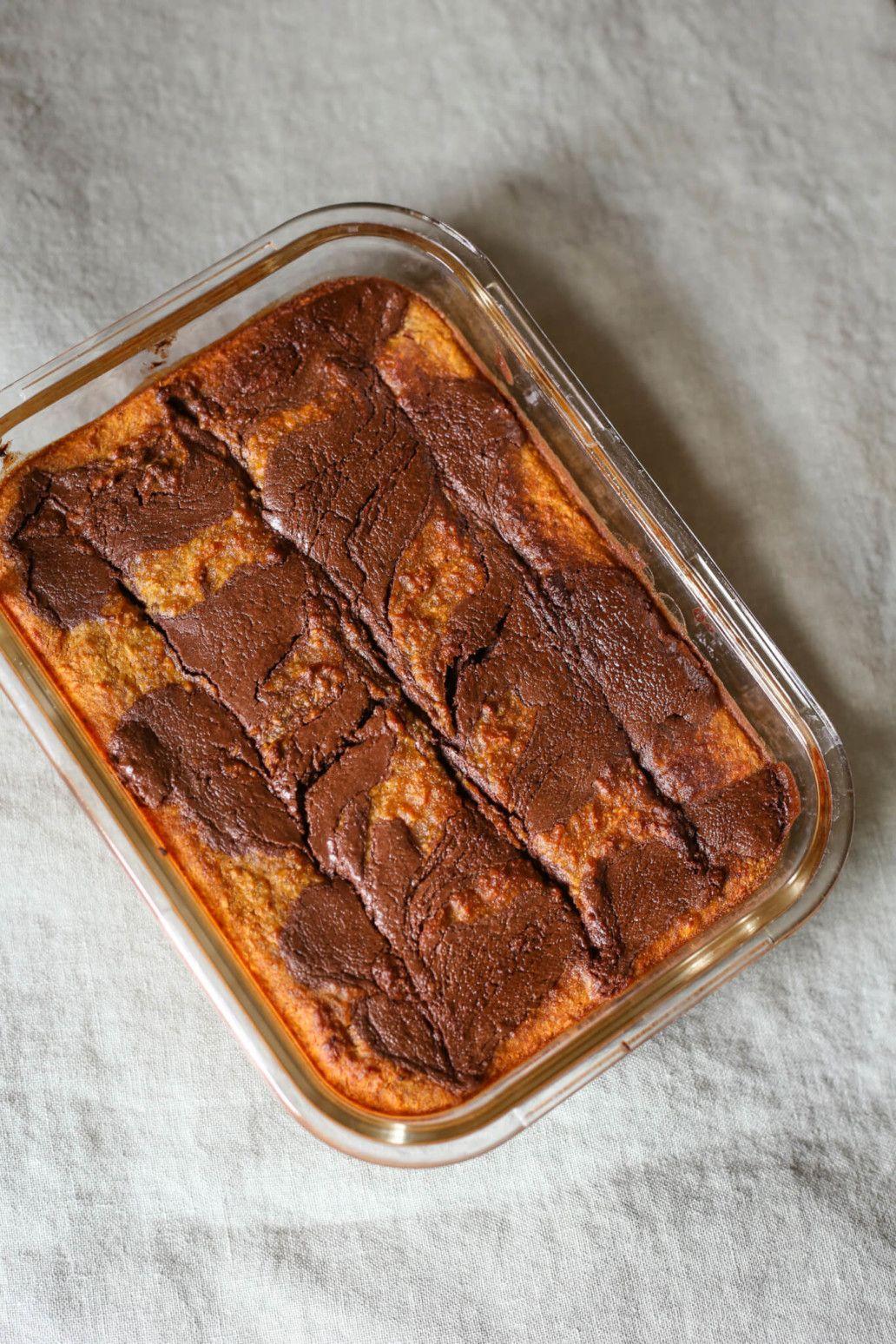 Gâteau sans beurre à la noix de coco et chocolat   Gâteau ...
