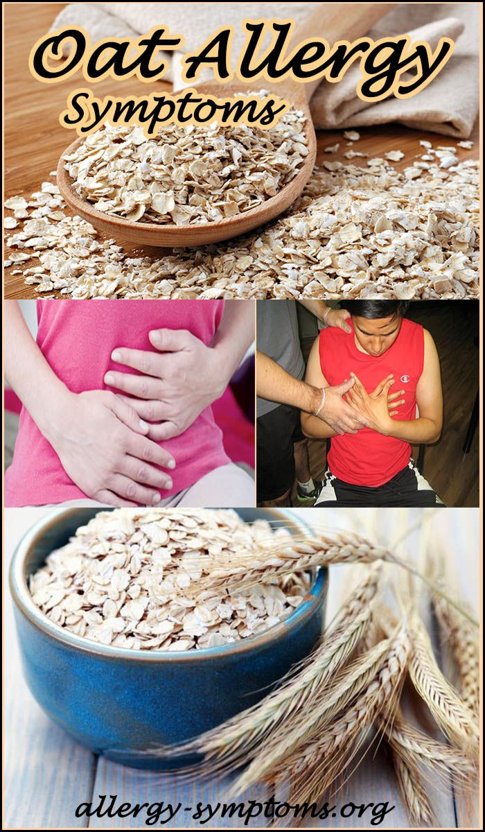 Oat Allergy Symptoms & Diagnosis #oat #oatallergy http://allergy-symptoms.org/oat-allergy/