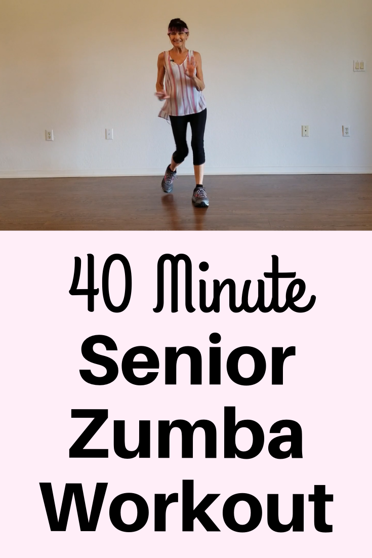 40 Minute Senior Zumba Workout - Fitness With Cindy