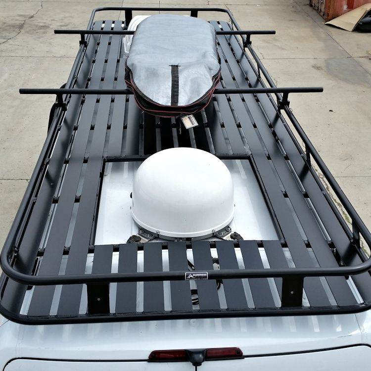 Aluminum Roof Rack With Tight Slats Www Roof