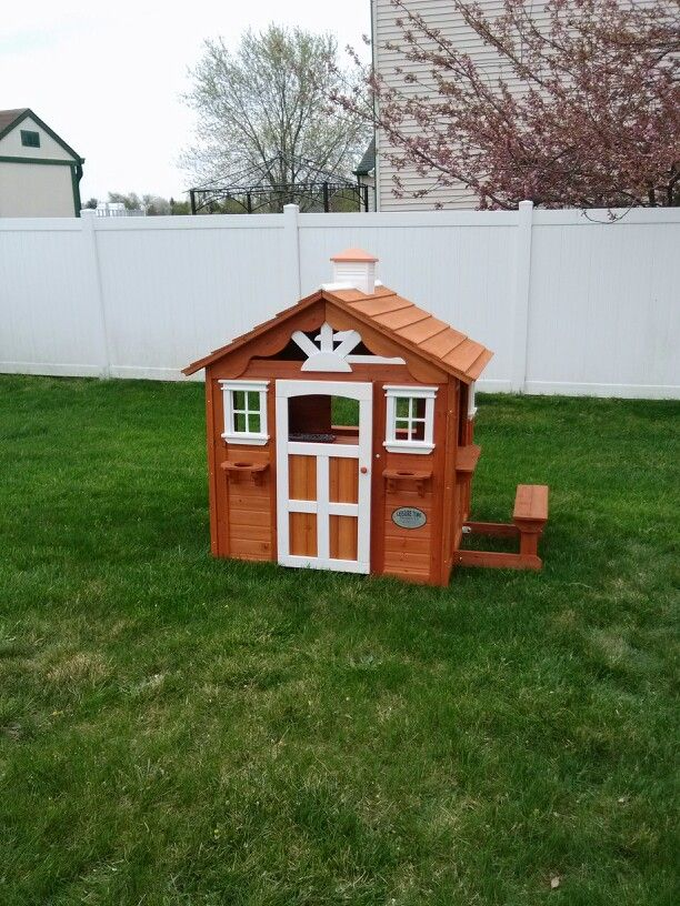 Backyard Discovery Summer Cottage Playhouse From Samu0027s Club Installed In  Sicklerville, ...