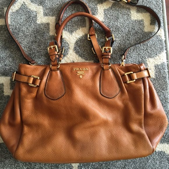 Photo of Prada handbag Replica Prada bag. Real calfskin leather. Excellent condition. A f…