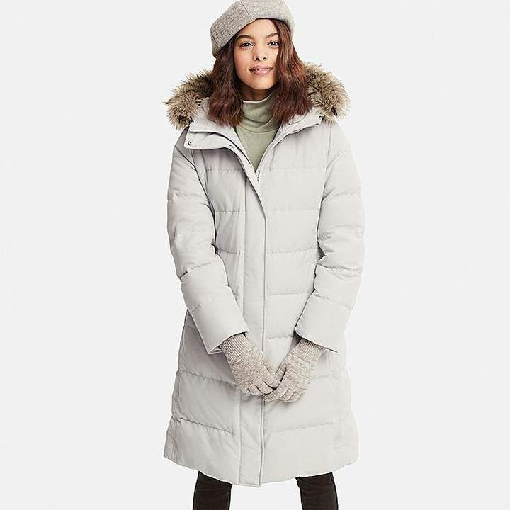 0947ddf478f Uniqlo Women s Ultra Warm Down Long Coat (online Exclusive)
