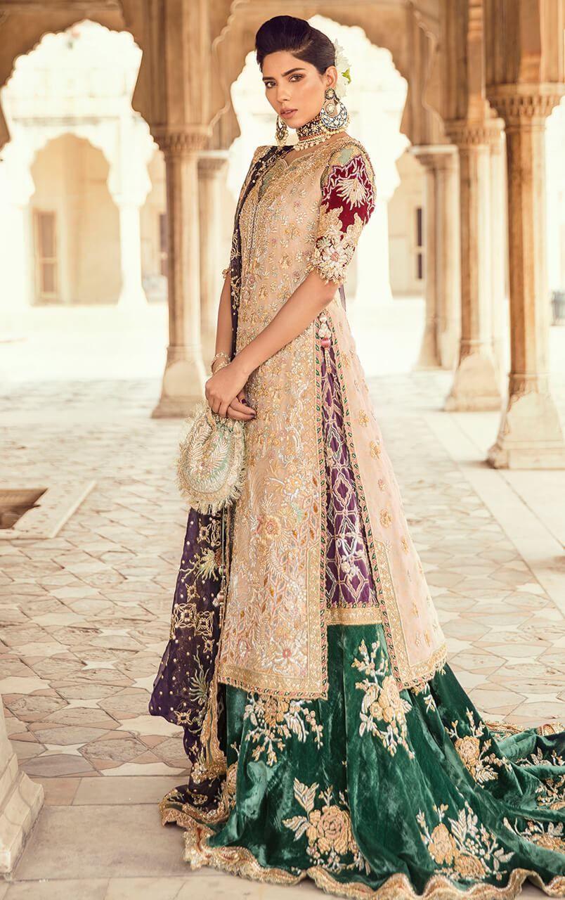 b16d4c4853 Tena Durrani Latest Bridal Collection 2019 - PK Vogue Pakistani leading  fashion designer Tena Durrani introducing latest bridal wear collection for  girls ...