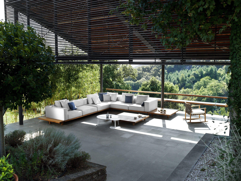 Anbausofa aus Stoff Sofa Kollektion Vis à vis by TRIBÙ | Design ...