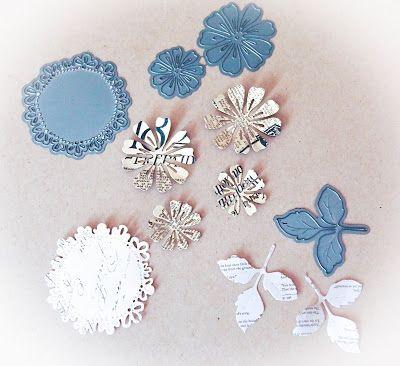 Jak zrobić kwiaty z wykrojników Magnolii
