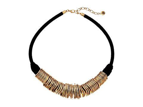 """Sam Edelman Disc Collar 18"""" Necklace"""