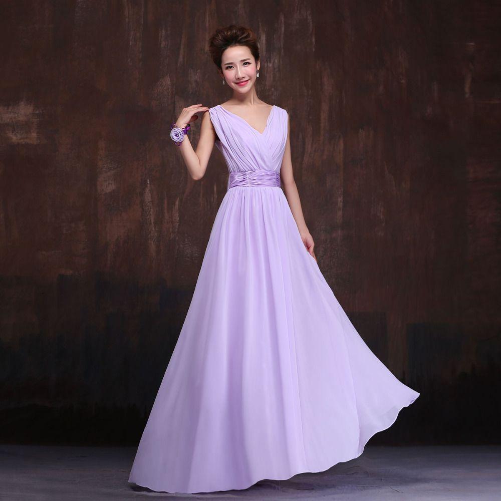 Hermosa Vestido De Dama De Champán Motivo - Vestido de Novia Para ...