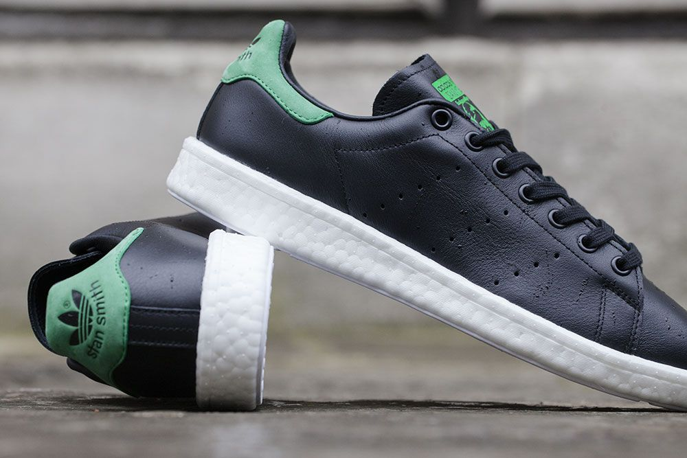 "Boost Smith Originals Stan ""core Green Adidas Black amp; qta8RqEx"