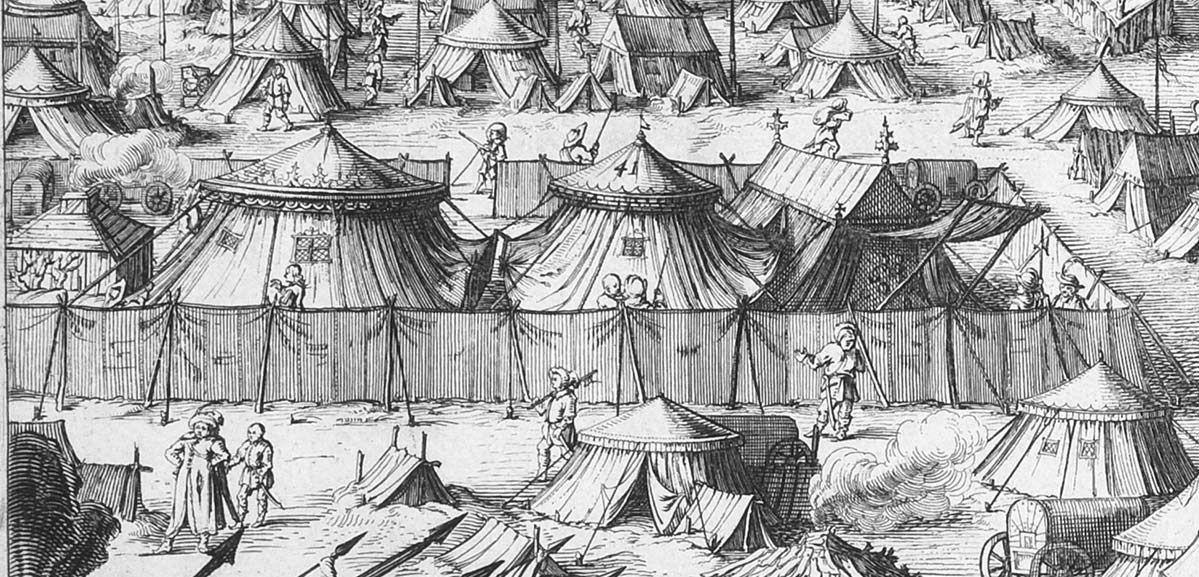 Odsiecz Smoleńska 1634 r  Ryciny S  Savery wg rysunku A Boya