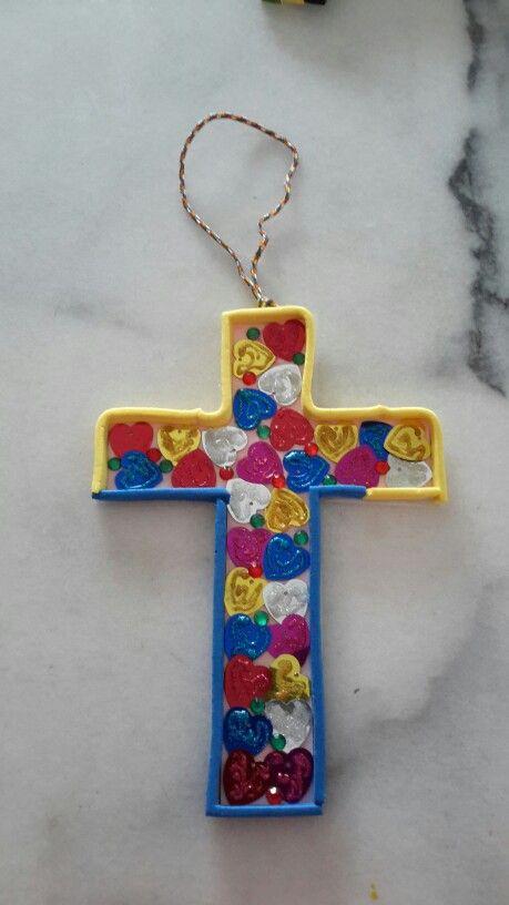 Terrie's  2015 cross design