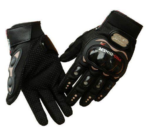 Carbon Fiber Pro-Biker Bicycle Motorcycle Motorbike Powersports Racing Gloves (L, Black), http://www.amazon.com/dp/B00GBVHPNW/ref=cm_sw_r_pi_awdm_JENQvb1DSVAS2