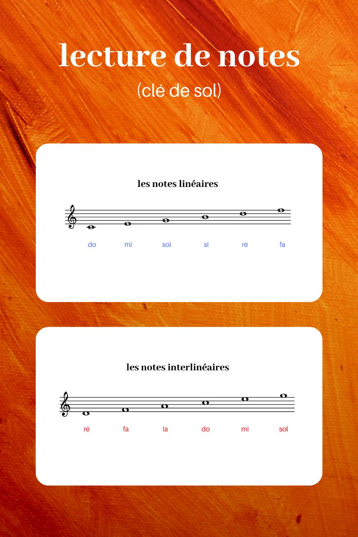 lecture de notes clé de sol et clé de fa (carrousel)  Solfège