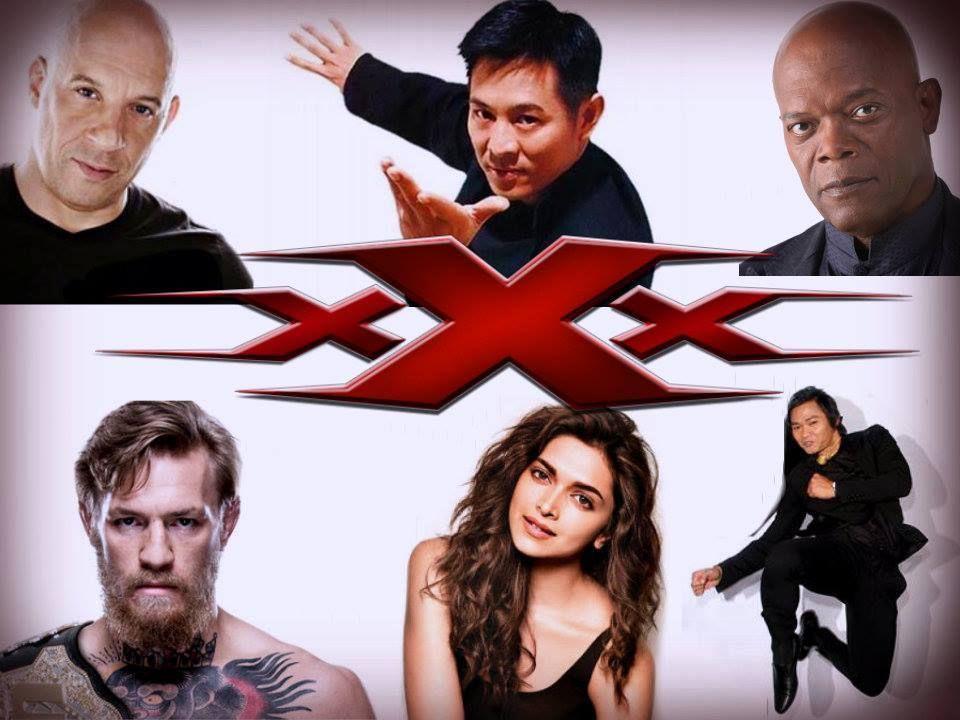 xXx 3 The Return of Xander Cage 2016. Vin Diesel - Samuel L. Jackson, Conor McGregor , Deepika Padukone,Jet Li,Tony Jaa