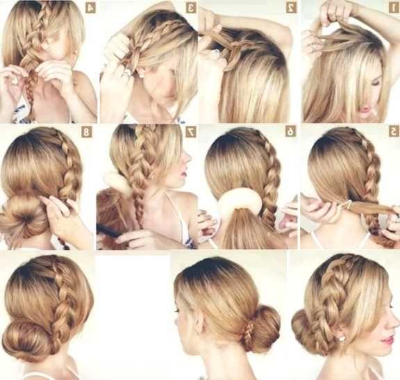 Frisuren fur lange haare geflochten