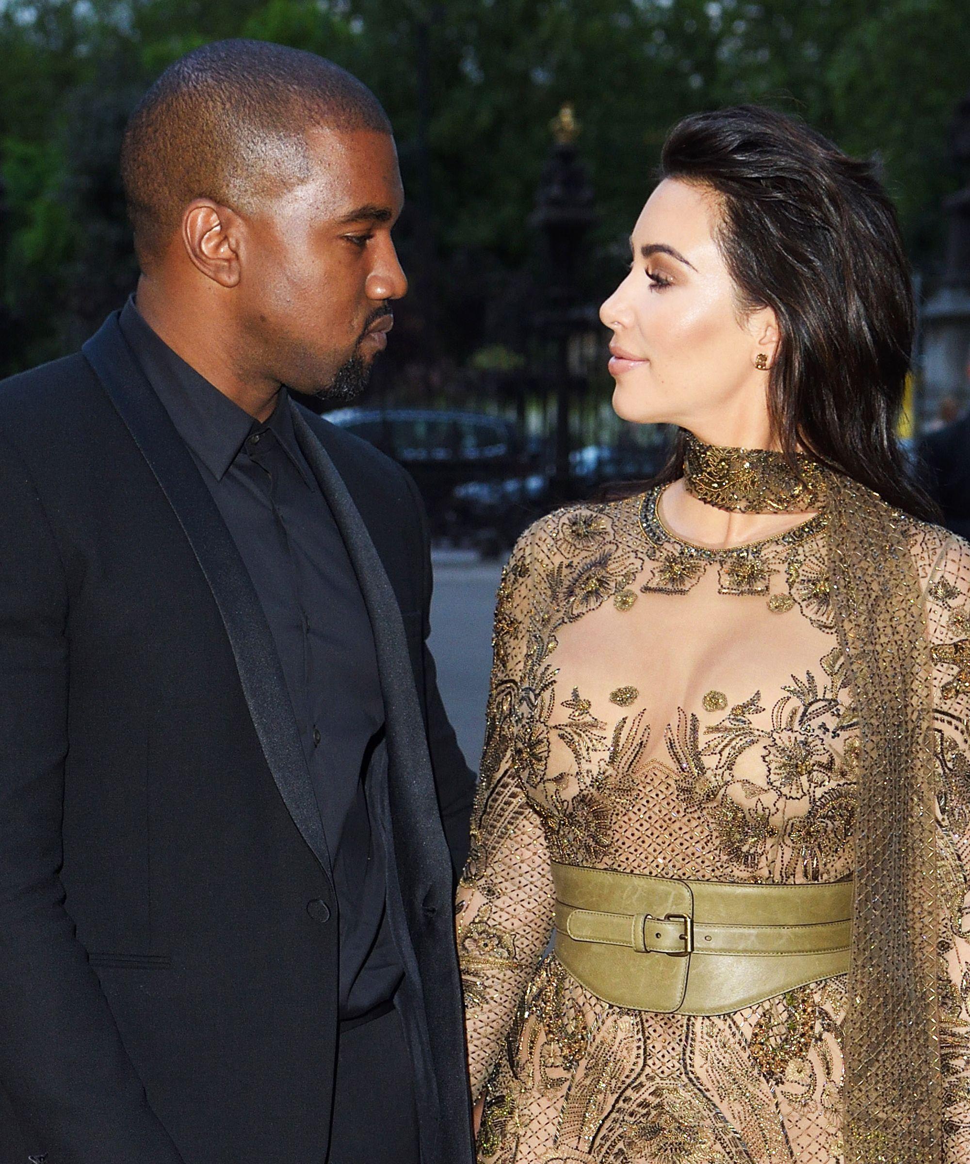 The Real Reason Kim Kanye S Baby Name Is Ruffling Feathers Kim Kardashian Kanye West Kim Kardashian Kanye