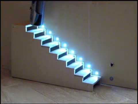 Automatic Staircase lighting ( automatic treppenbeleuchtung) Beer