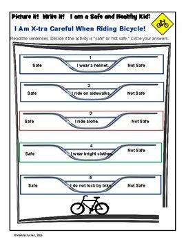 Bicycle Safety Decisions Safe Or Not Safe With Images Health