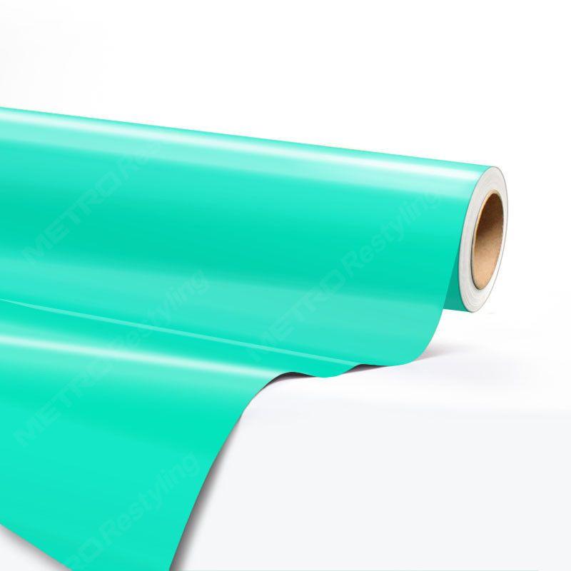 5ft x 1ft hexis gloss tiffany blue vinyl wrap sheet