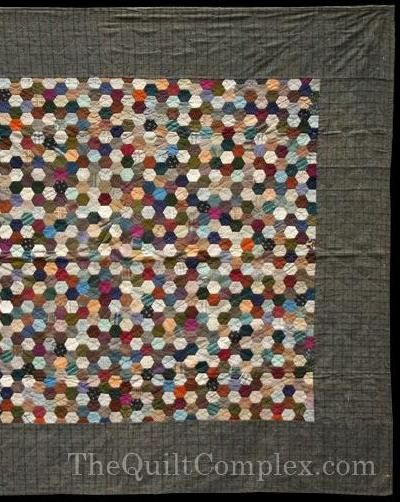 Mosaic Quilt at womenfolk.com. America's Quilting History, quilt ... : hexagon pattern for quilting - Adamdwight.com