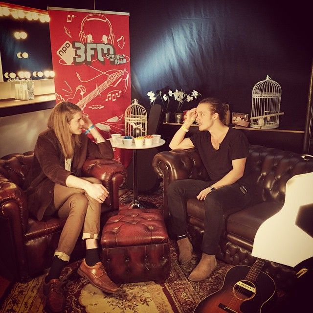 Big thanks to @NPO3fm for having a chat with me at the festival tonight! And thanks to everyone who showed up!