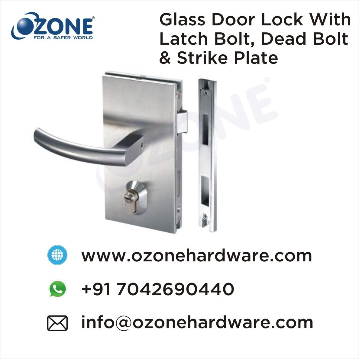 Pin on GLASS DOOR HANDLES, LOCKS & HINGES