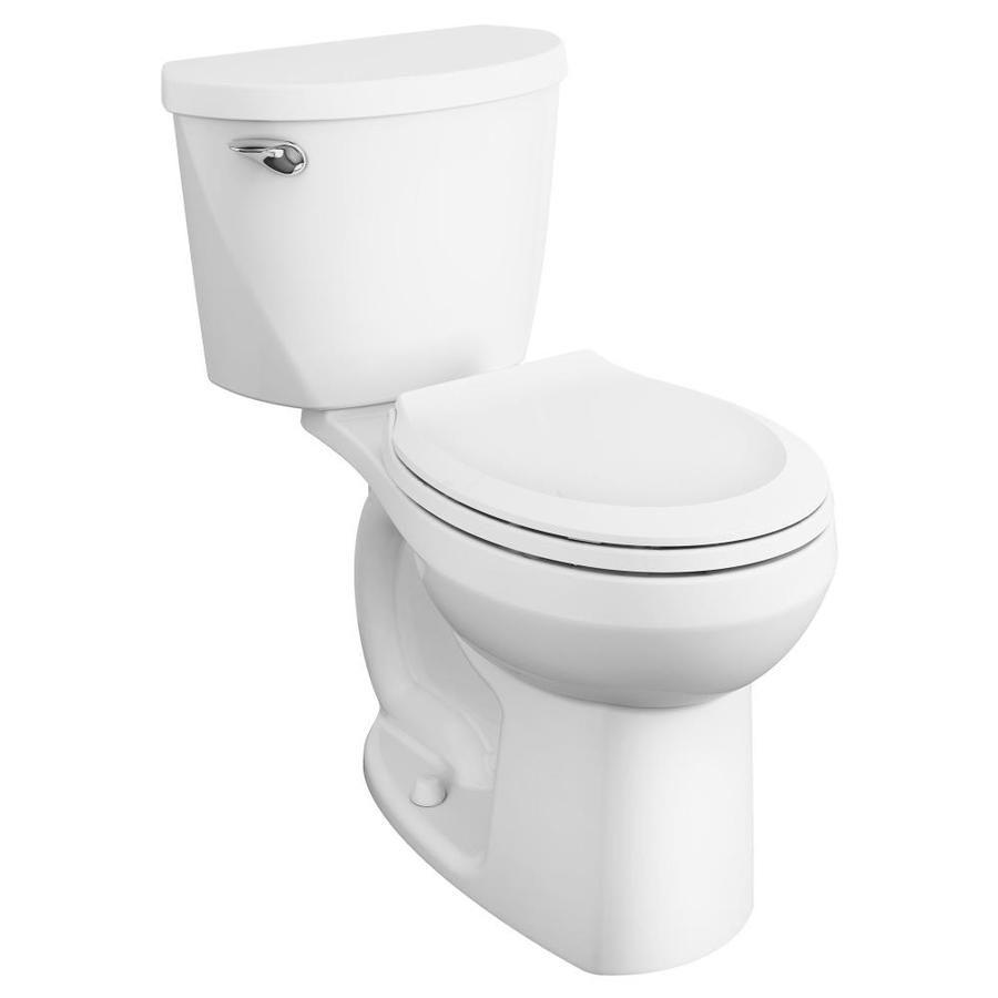 American Standard Mainstream White Watersense Round Chair Height 2